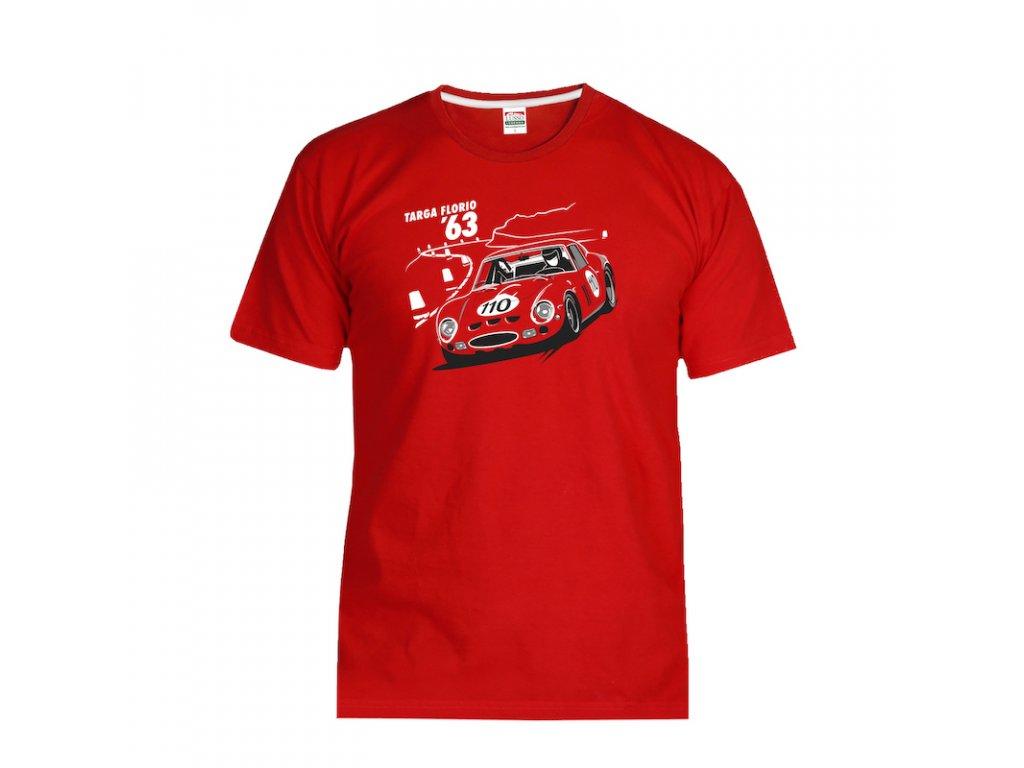 Lusso Legends panske tricko Ferrari 250 GTO Targa Florio