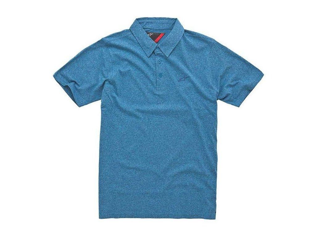 Pánská modrá polokošile ESTABLISHED SS Alpinestars krátká 1034-41000 72