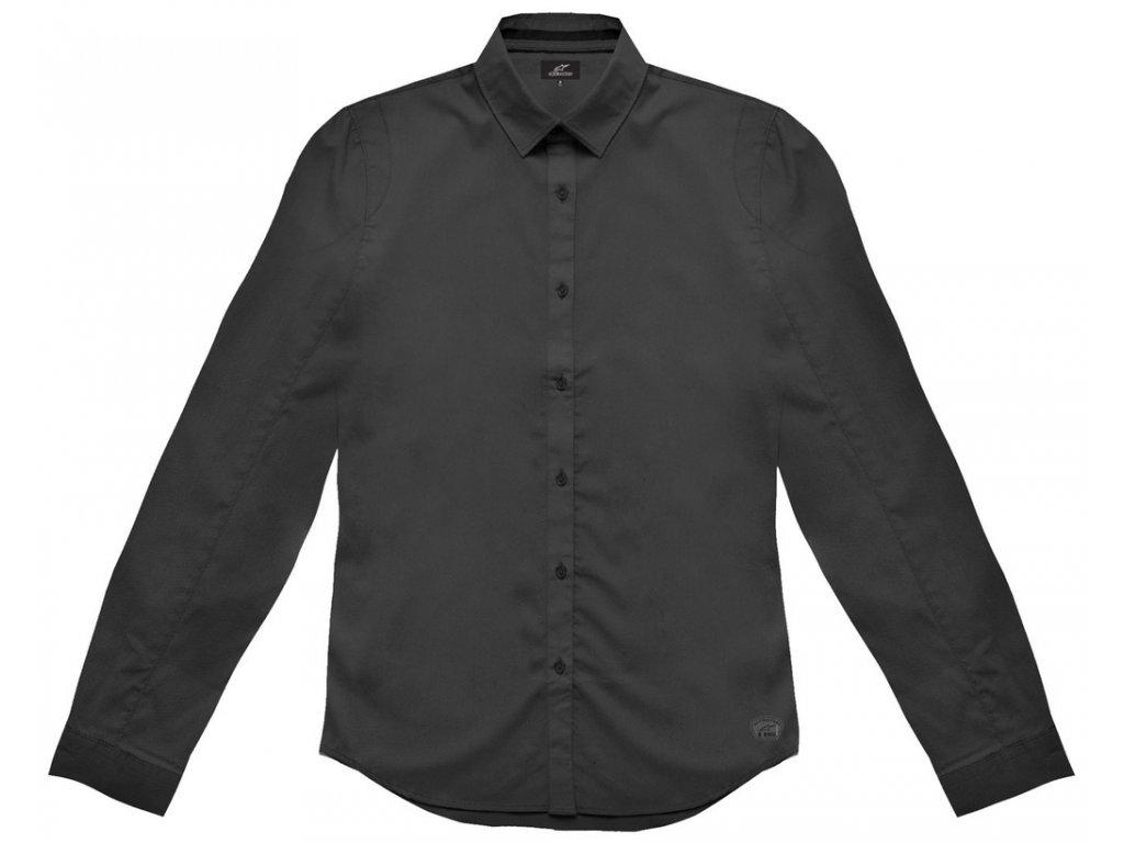 Pánská černá košile MIDWICK LS Alpinestars dlouhá 1035-31003 10