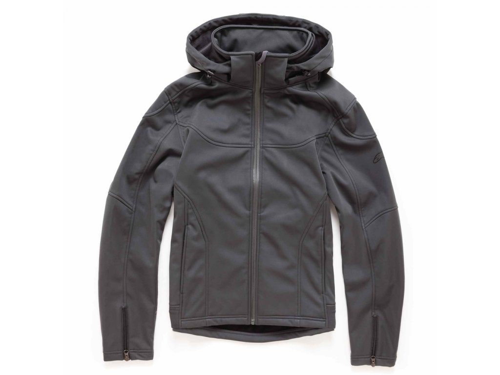 Pánská tmavě šedá bunda HEADLINE Alpinestars 1035-11005 18