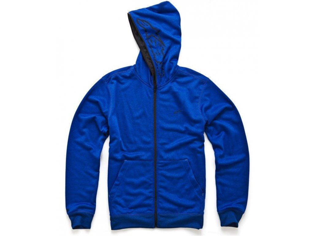 Pánská modrá mikina FREEMONT ZIP FLEECE Alpinestars 1013-53004 7210