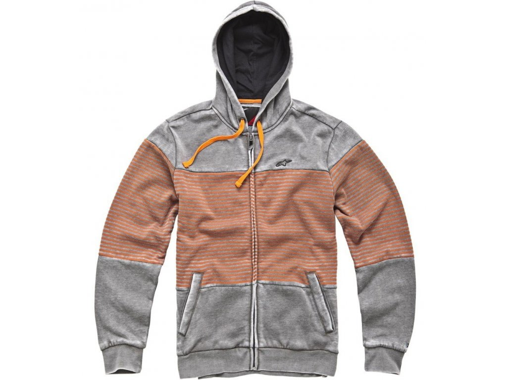 Pánská šedá mikina CAMINO Alpinestars 1033-53073 11