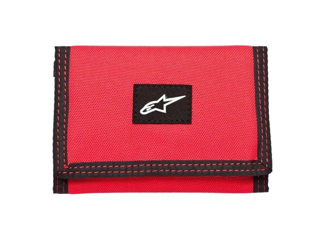 Peněženka červená FRICTION WALLET Alpinestars 1035-92003 30