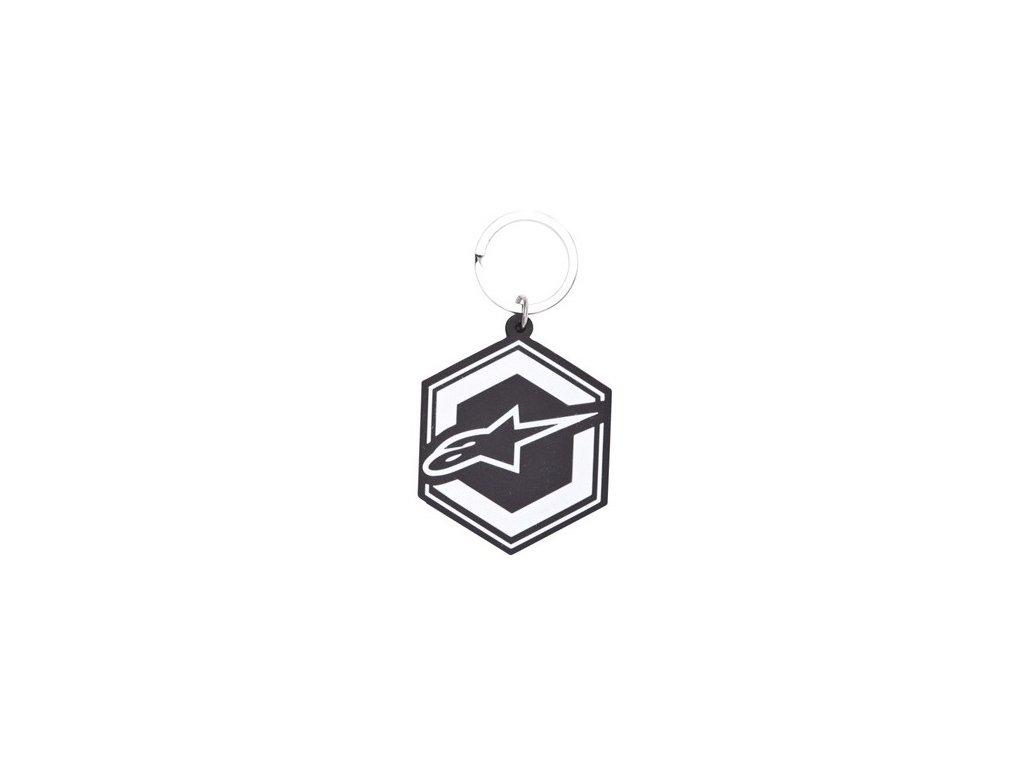 Klíčenka černá IGNITION KEYFOB Alpinestars 1015-94004 10