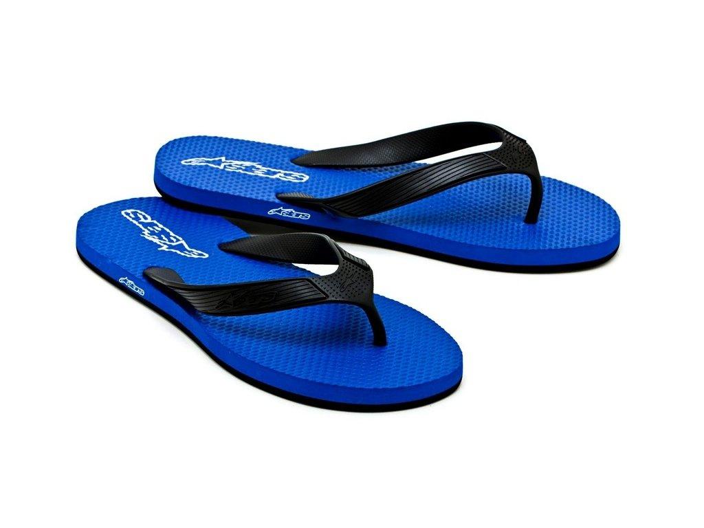 Pánské modré žabky ADVOCATE Alpinestars 1013-94040 72 - US 7