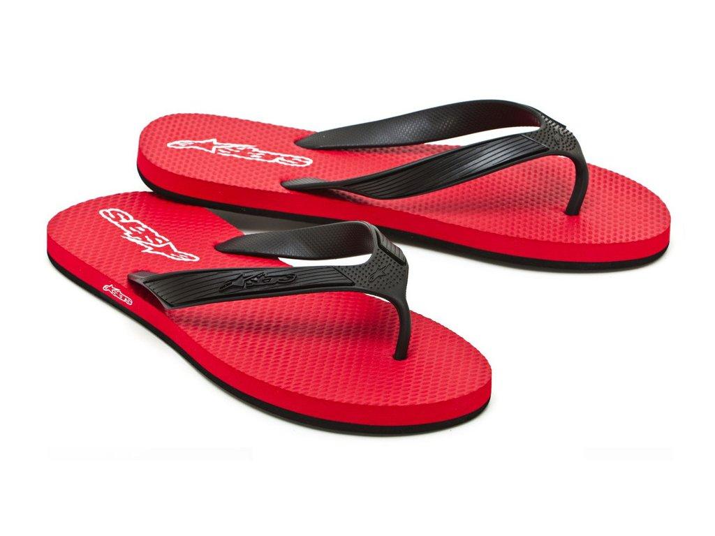 Pánské červené žabky ADVOCATE Alpinestars 1013-94040 30 - US 7