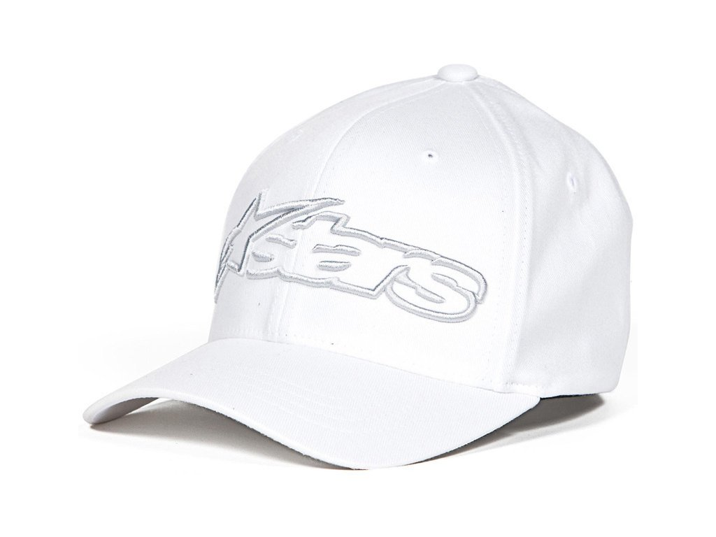 Pánská bílá kšiltovka BLAZE HAT Alpinestars 1039-81005 2018-M