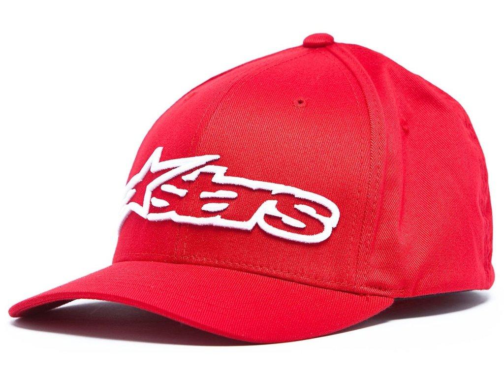 Pánská červená kšiltovka BLAZE HAT Alpinestars 1039-81005 3020-M
