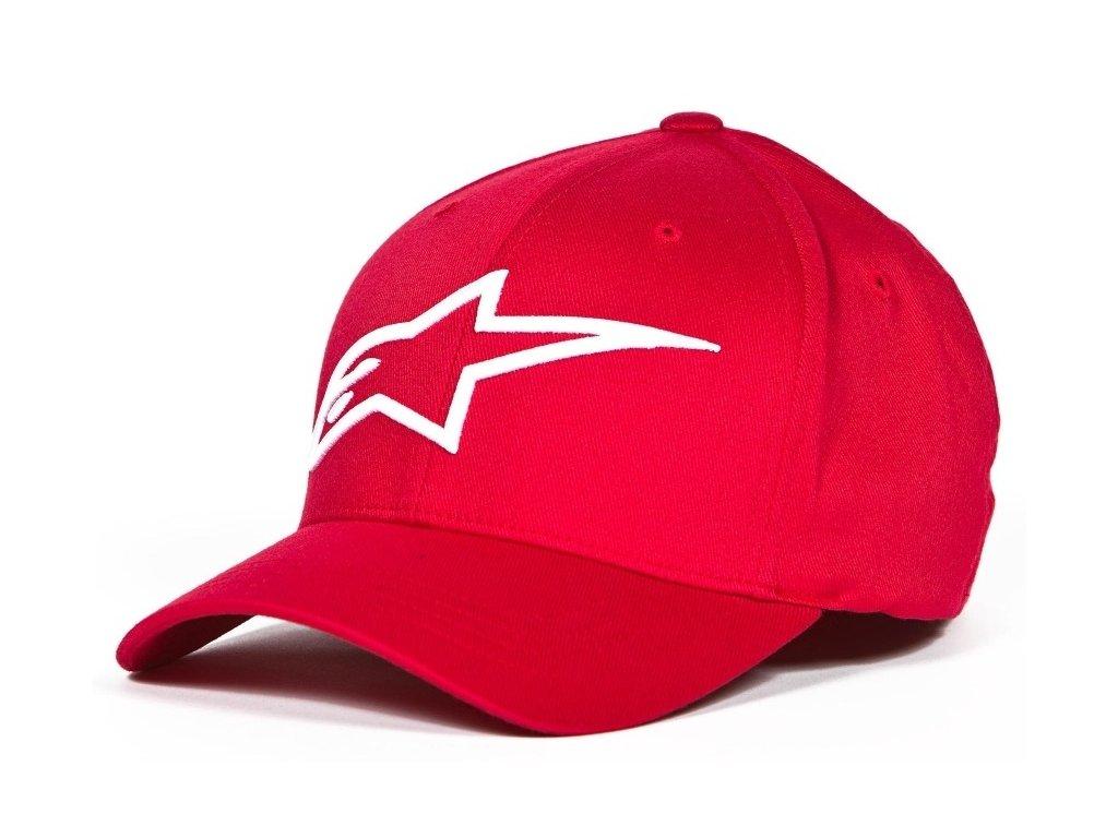 Pánská červená kšiltovka LOGO ASTAR Alpinestars 1039-81003 3020-M