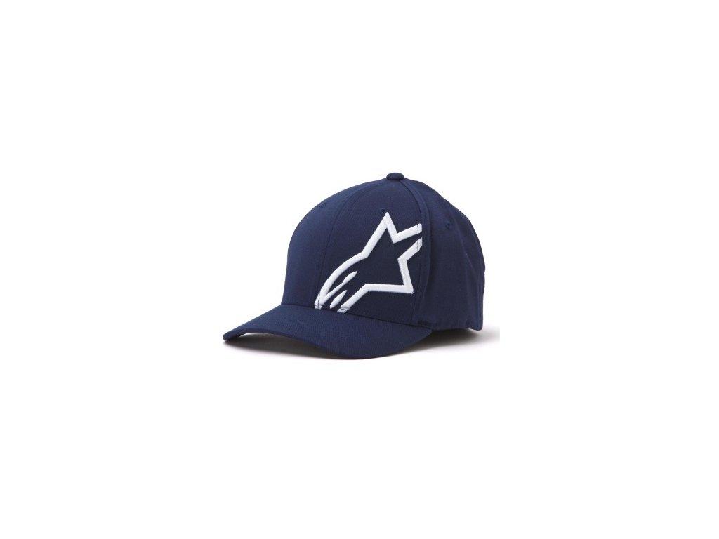 Pánská modrá kšiltovka CORP SHIFT 2 FLEXFIT Alpinestars 1032-81008 7020-M
