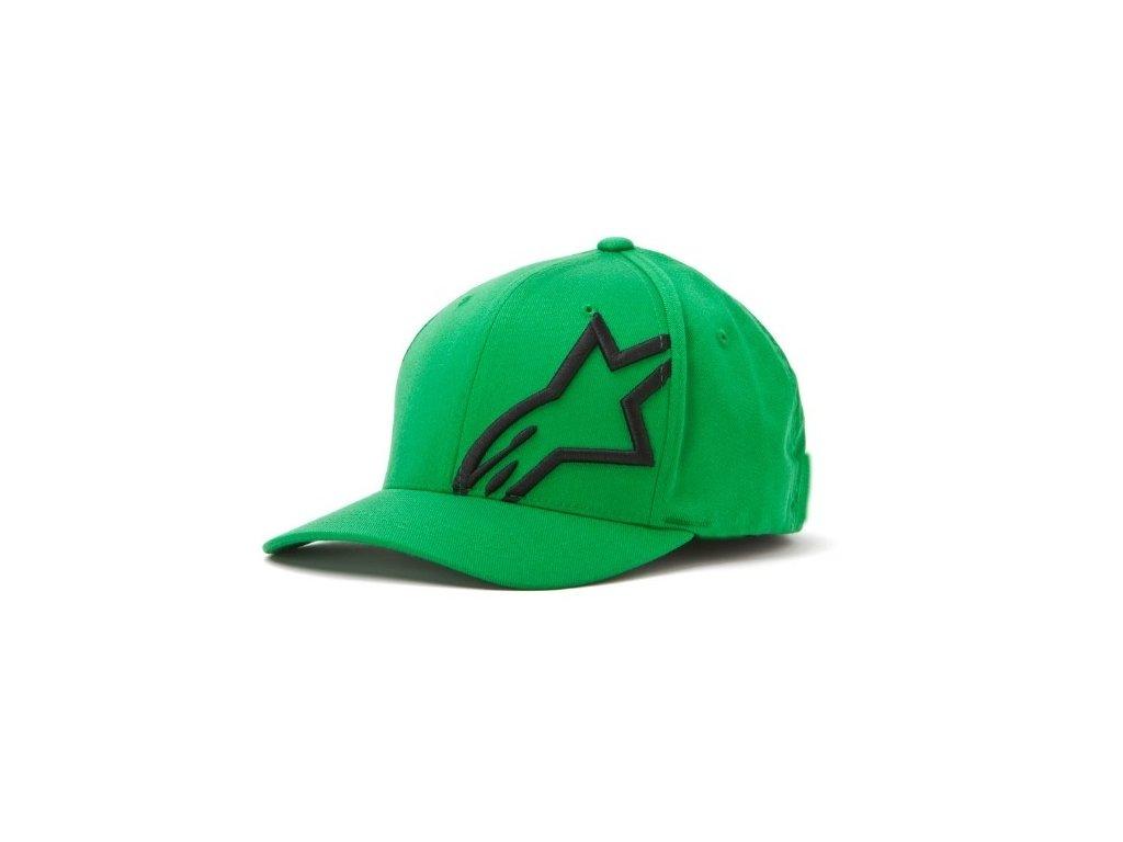 Pánská zelená kšiltovka CORP SHIFT 2 FLEXFIT Alpinestars 1032-81008 6010-M