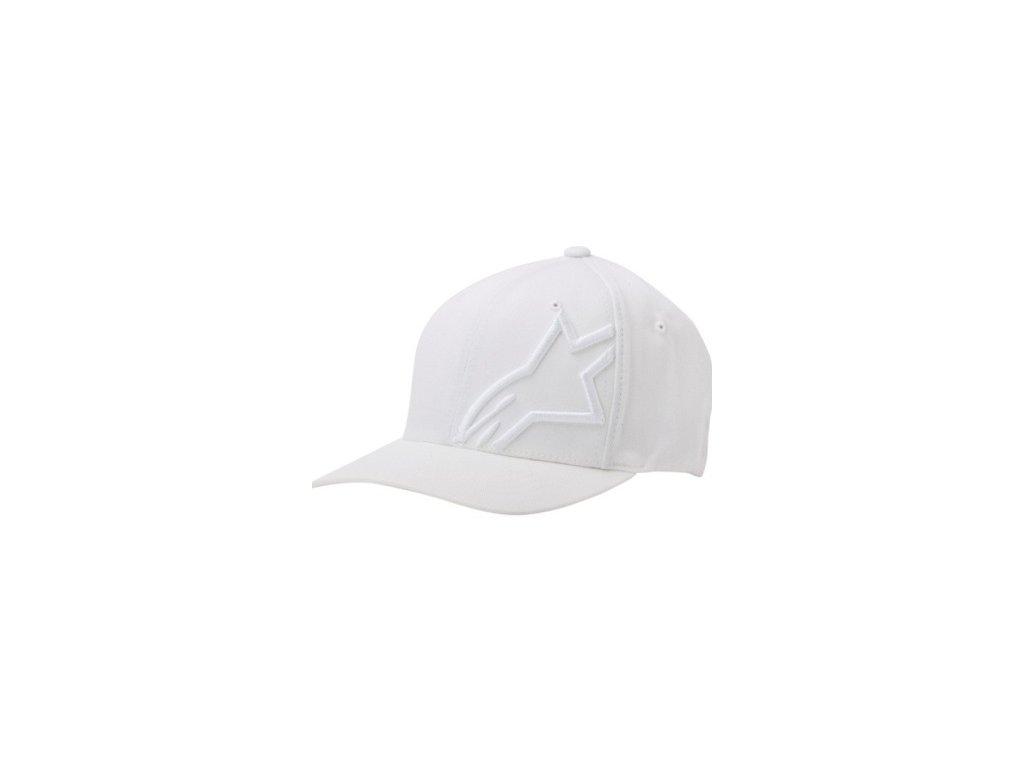 Pánská bílá kšiltovka CORP SHIFT 2 FLEXFIT Alpinestars 1032-81008 2020-M