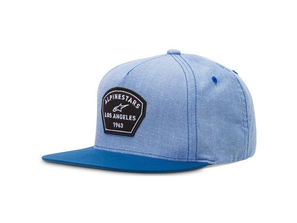 Pánská modrá kšiltovka WOODBRIDGE HAT Alpinestars 1016-81005 72