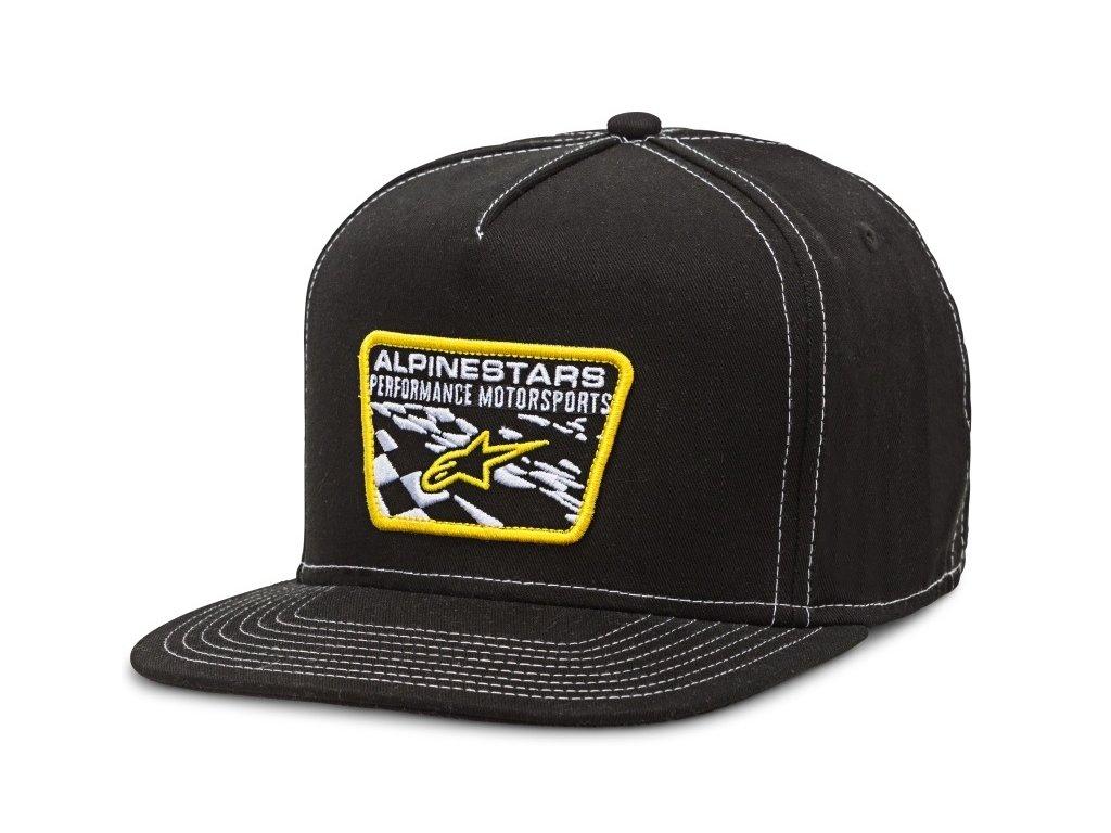 Pánská černá kšiltovka CIRCUIT SALTY HAT Alpinestars 1016-81026 10