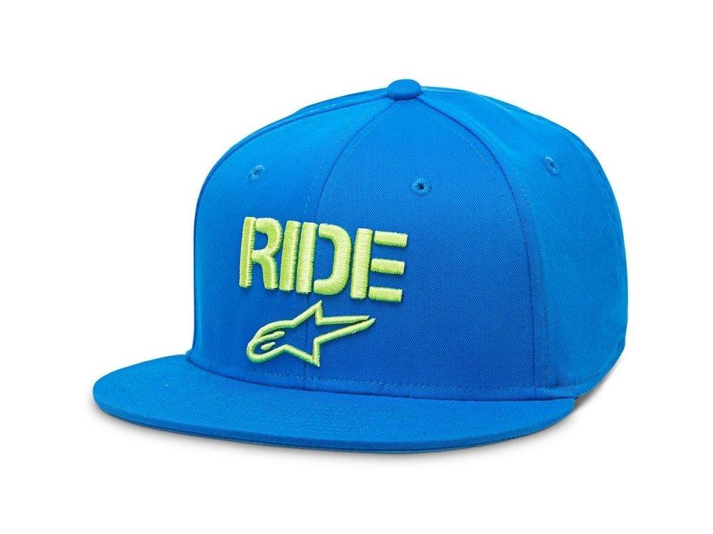Pánská modrá kšiltovka RIDE FLAT HAT Alpinestars 1016-81024 76-M