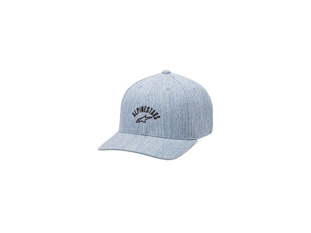 Pánská šedá kšiltovka NAPIER HAT Alpinestars 1016-81017 11-XL