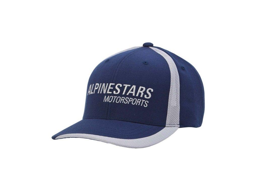 Pánská modrá kšiltovka MOTORWORKS HAT Alpinestars 1015-85000 70