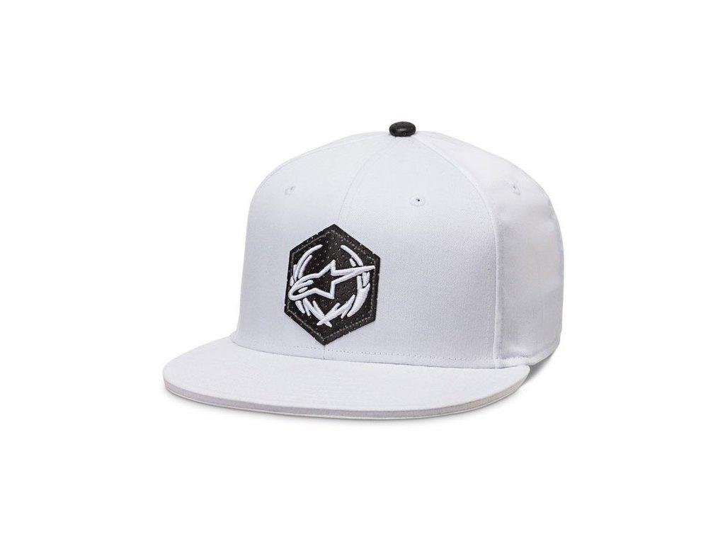 Pánská bílá kšiltovka MAXIMUM HAT Alpinestars 1016-81022 20-M