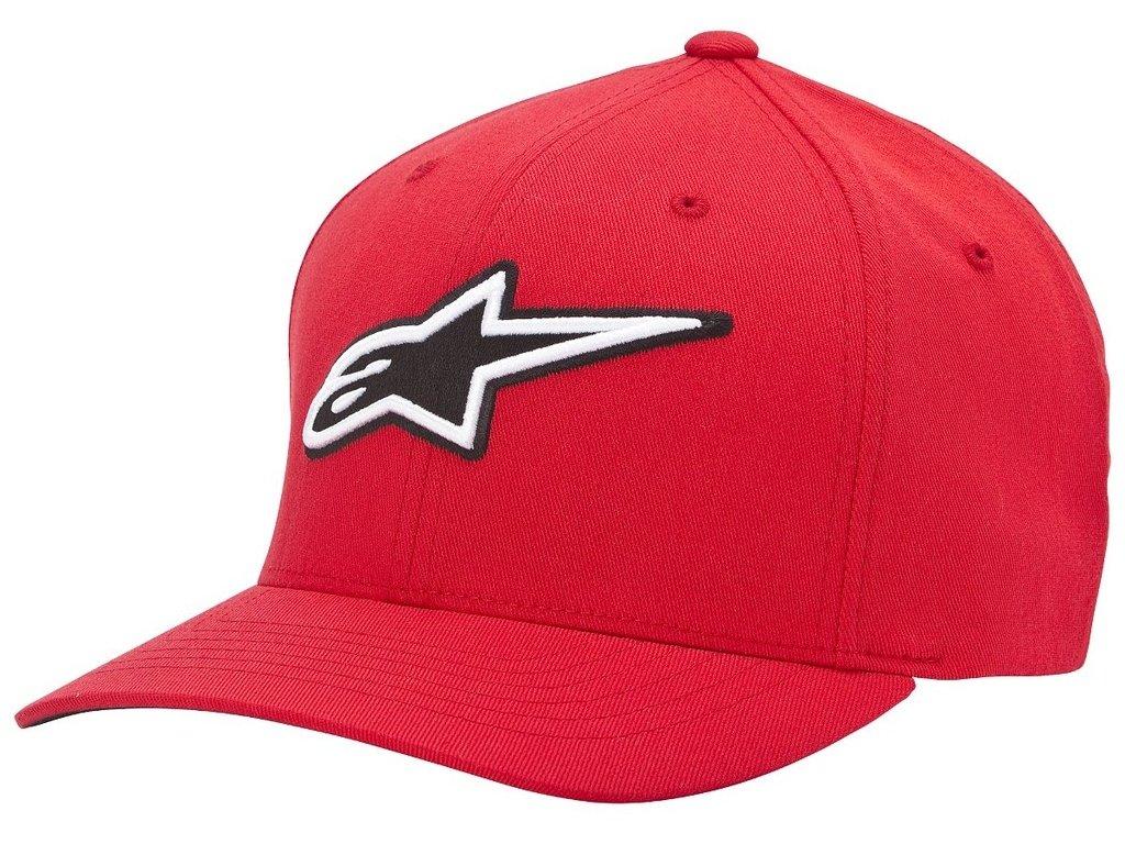 Pánská červená kšiltovka CORPORATE HAT Alpinestars 1015-81001 30-M