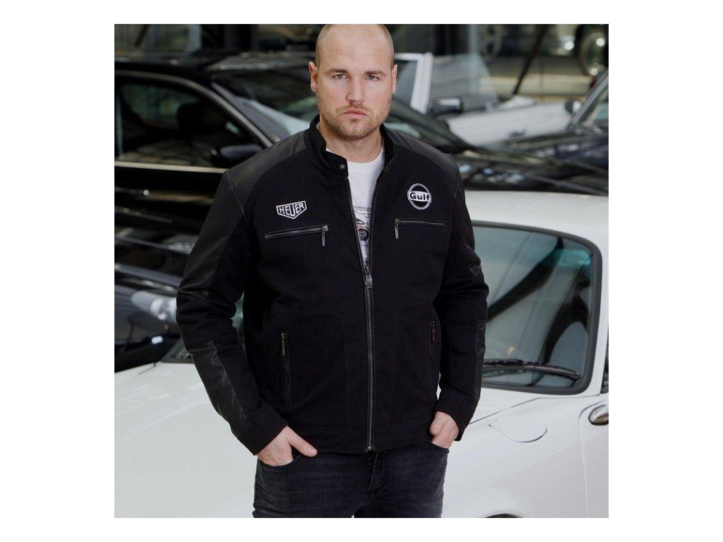 Pánská černá bunda Magic Racing GULF