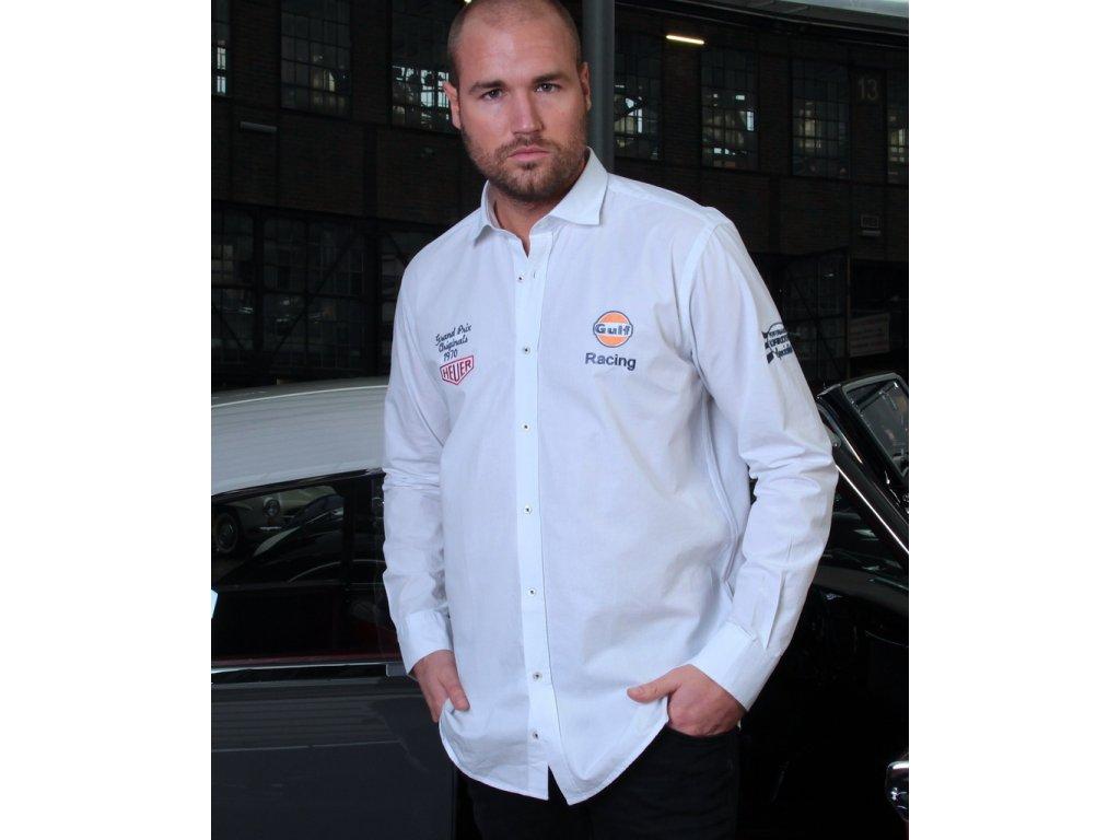 Pánská bílá košile Allstar GULF