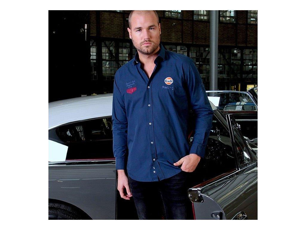 Pánská modrá košile Allstar GULF