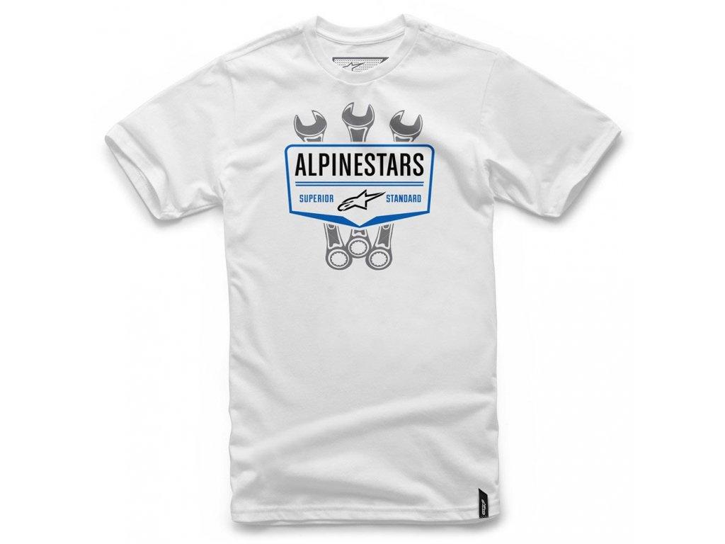 Pánské bílé tričko SHIFT TEE Alpinestars krátké 1036-72010 20