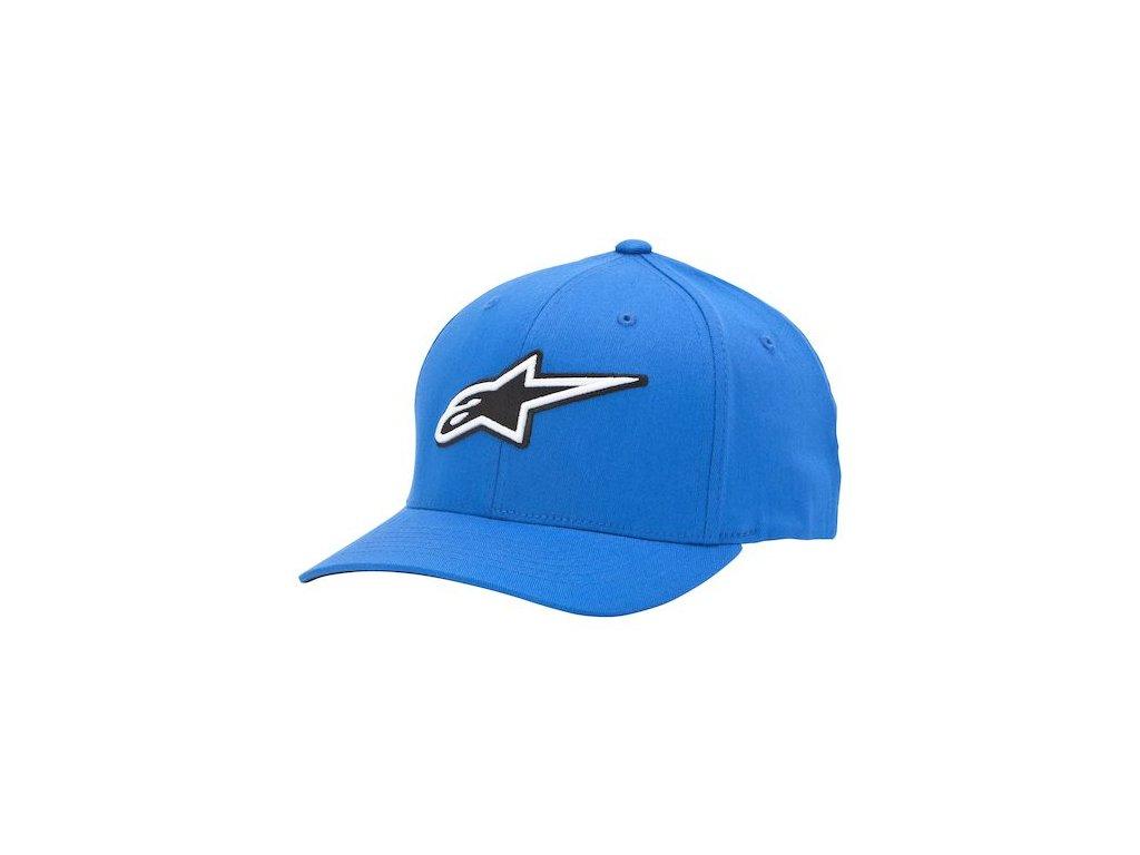 Pánská modrá kšiltovka CORPORATE HAT Alpinestars 1015-81001 72-M