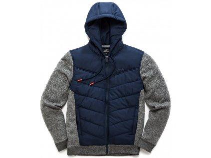 Pánská modrá bunda BOOST QUILTED JACKET Alpinestars 1038-51010 70