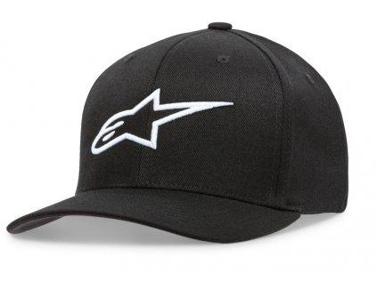 Dámská černá kšiltovka AGELESS HAT Alpinestars 1W38-81100 1020 1038-81100 1020