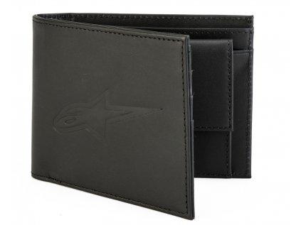 Peněženka kožená černá AGELESS LEATHER WALLET Alpinestars 1019-92100 10