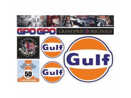 GrandPrix Originals sada samolepek GULF
