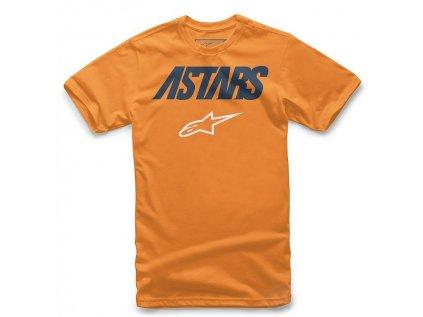 Dětské oranžové tričko ANGLE COMBO TEE Alpinestars krátké 3019-72000 40