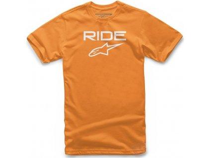 Dětské oranžové tričko RIDE 2.0 TEE Alpinestars krátké 4038-72150 4020 - 5-6 roků