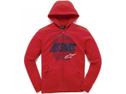 Dětská červená mikina REX FLEECE Alpinestars 3019-51100 30