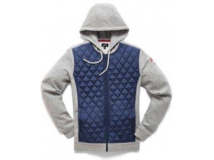 Pánská modrá bunda METHOD HYBRID Alpinestars 1210-11020 70