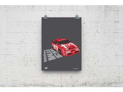 Poster Lusso Legends Alfa Romeo DTM 1993