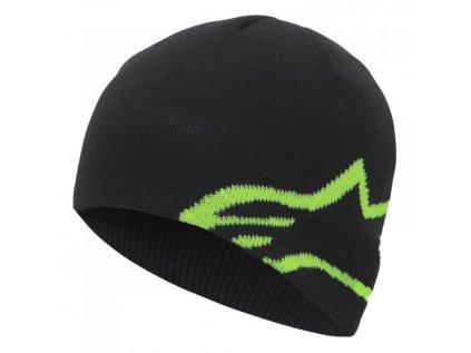Čepice černo-zelená CORP SHIFT BEANIE Alpinestars 1036-81023 1060