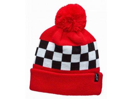 Čepice červená WINNING BEANIE Alpinestars 1230-81500 30