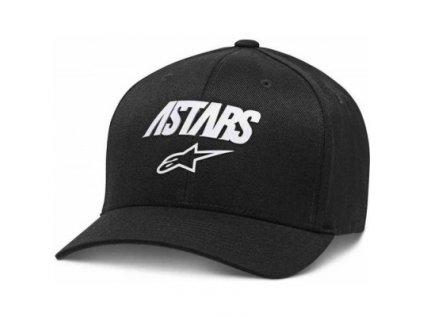 Pánská černá kšiltovka ANGLE REFLECT HAT Alpinestars 1139-81525 10-M