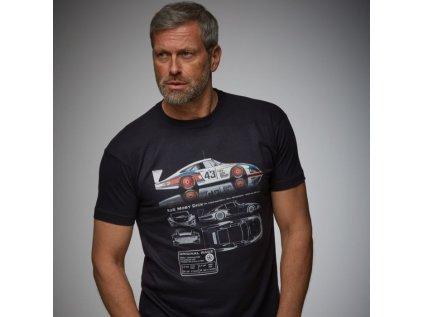 GPO Panske tmave modre tricko ORC Moby Dick Porsche produkt 1