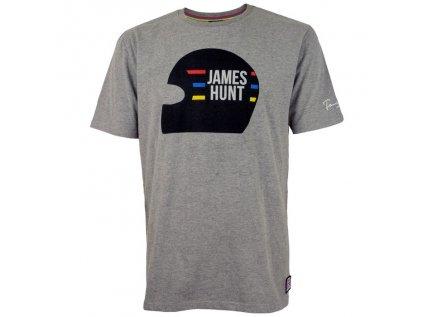 Motorsport Legends GPO panske tricko James Hunt vintage sede 1