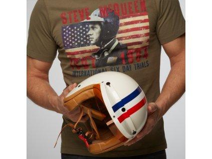 GPO zavodni helma GULG vintage stripe helmet