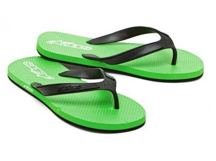 Pánské zelené žabky ADVOCATE Alpinestars 1013-94040 68 - US 7