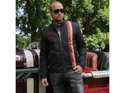 Pánská černá bunda Heuer Replica GULF