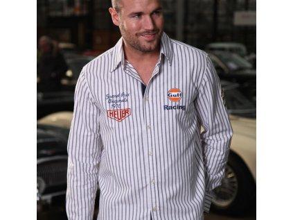 Pánská košile Racing Stripe GULF