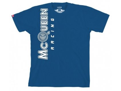 Pánské modré tričko Racing Steve McQueen