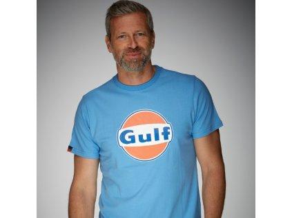Grand Prix Originals panske svetle modre tricko GULF 2