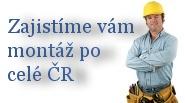Nabízíme vám možnost zajištění montáže po celé ČR našimi smluvními partnery