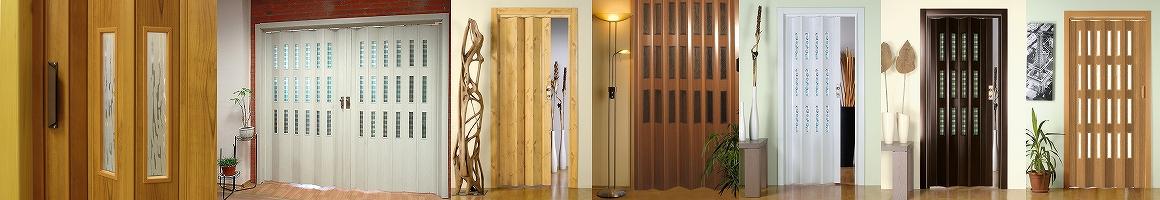 Shrnovací dveře